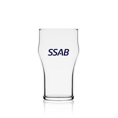Nonic 300 ml szklanka do piwa z nadrukiem
